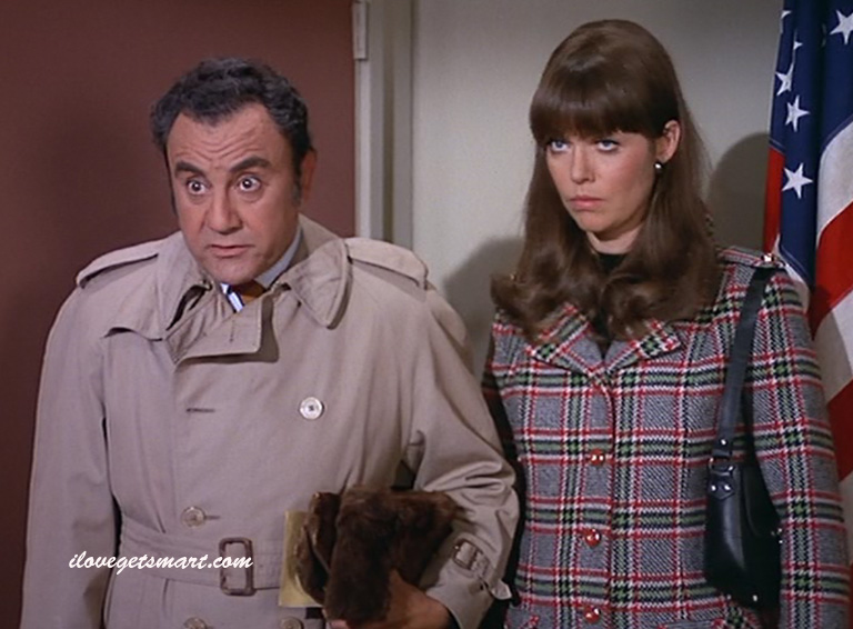 Bill Dana with Barbara Feldon in Ice Station Siegfried.